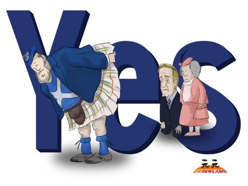 苏格兰公投或难分伯仲 英国经济失血惨重