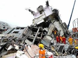 多维直击台湾地震现场