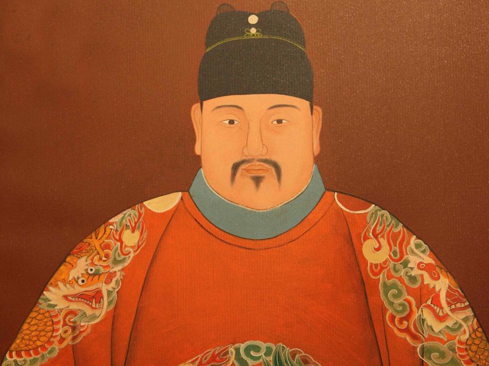 卡通大明皇帝头像