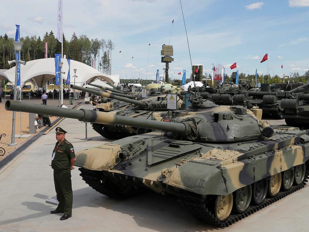 俄国际军事技术论坛现新型军工 苏联首颗原子弹亮相[图集]